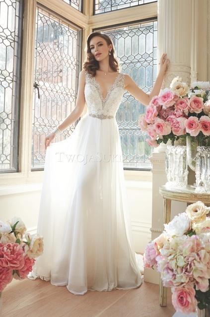 Suknie ślubne Typu Empire 20 Pięknych Modeli Weddingpl