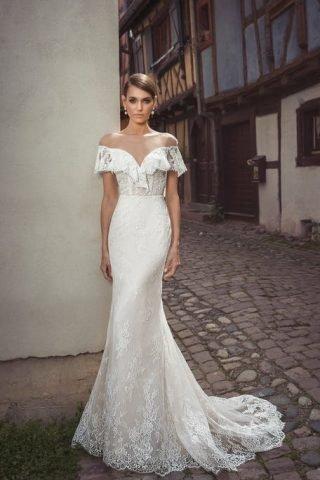 Suknia ślubna boho glamour