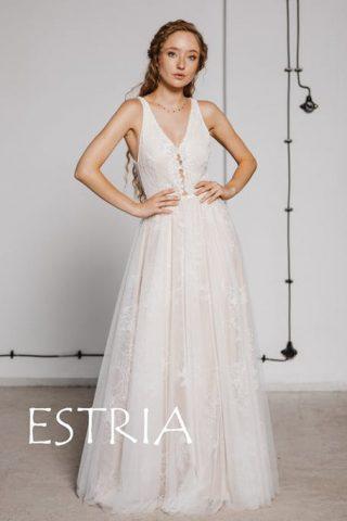 Suknia ślubna boho retro