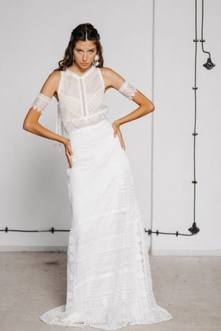 Suknia ślubna inspirowana festiwalem