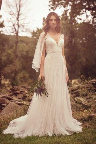 Nowoczesne suknie ślubne w stylu boho