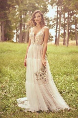 Ponadczasowa suknia ślubna w stylu boho