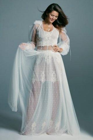 Modne suknie ślubne w stylu boho