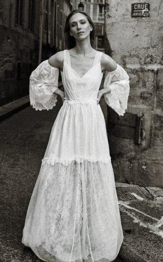 Suknia ślubna boho vintage