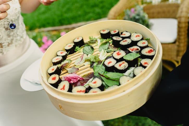 sushi atrakcje na wesele