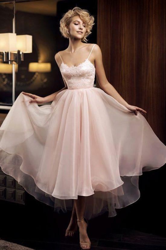 sukienki na poprawiny dla panny młodej koktajlowa