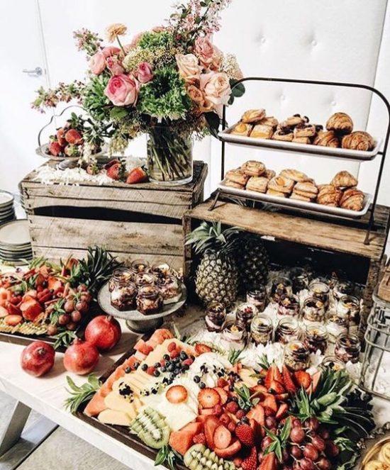 Szwedzki stół na weselu - zdjęcie 10