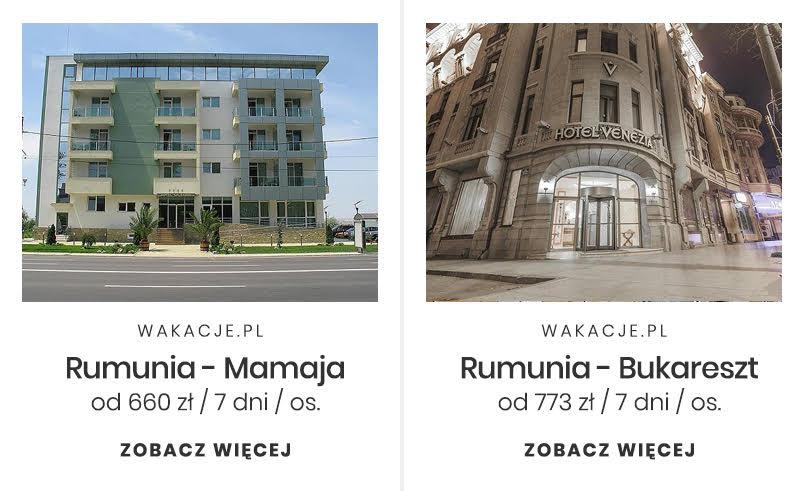 Tani miesiąc miodowy - Rumunia