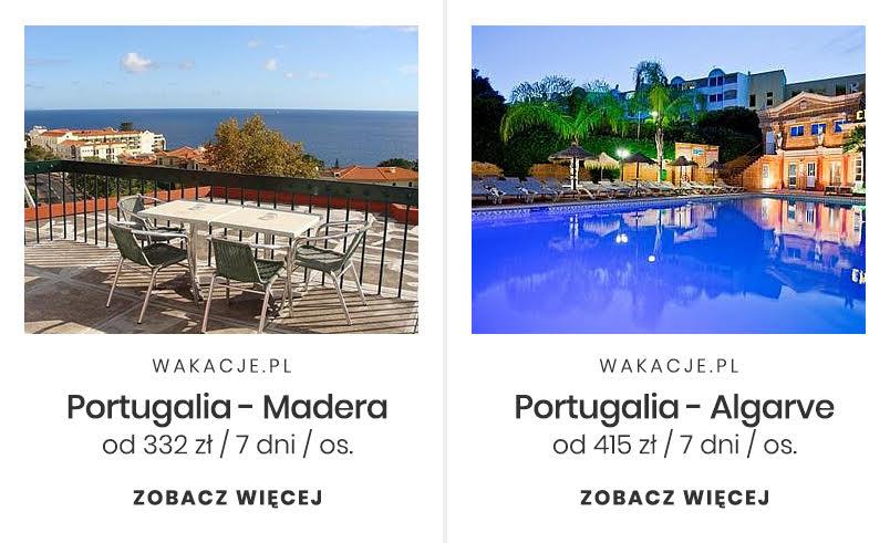 Tani miesiąc miodowy - Portugalia