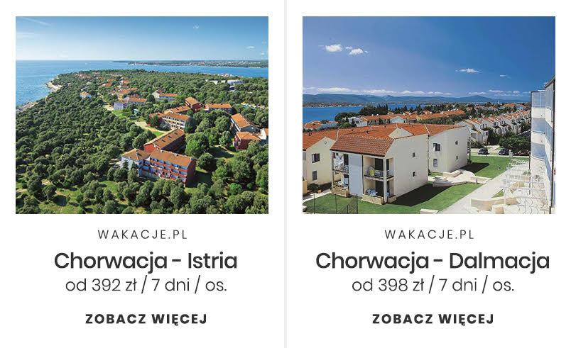 Tani miesiąc miodowy - Chorwacja