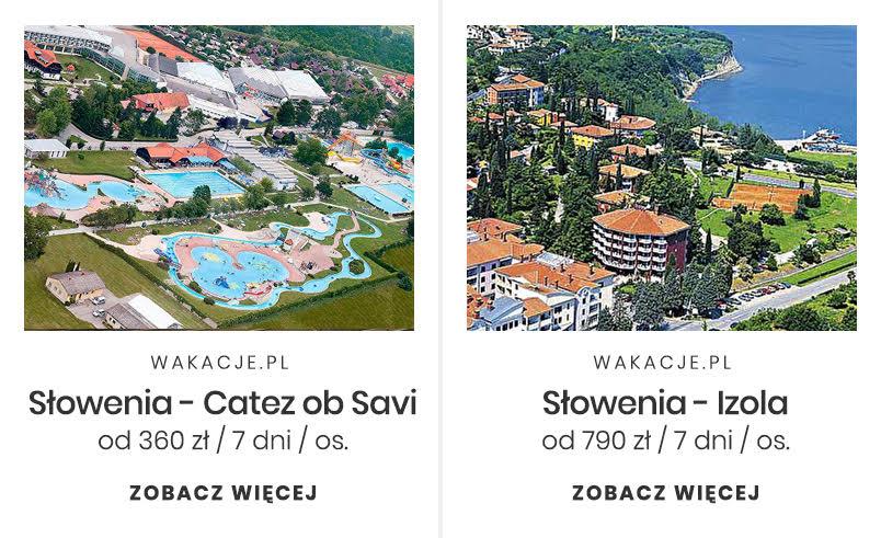 Tani miesiąc miodowy - Słowenia