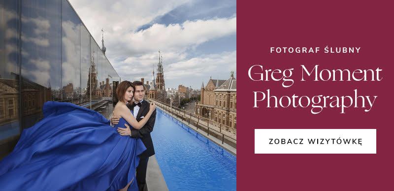 najlepsze firmy ślubne - Greg Moment Photography