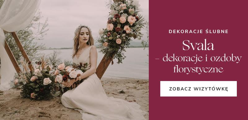 najlepsze firmy ślubne - Svala dekoracje ślubne