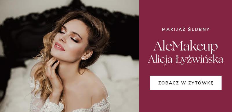 najlepsze firmy ślubne - AleMakeup Alicja Łyżwińska