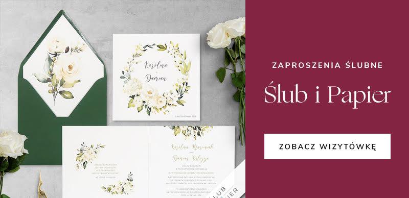 najlepsze firmy ślubne - Ślub i Papier