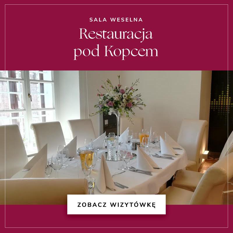 Restauracja pod Kopcem / Wedding.pl