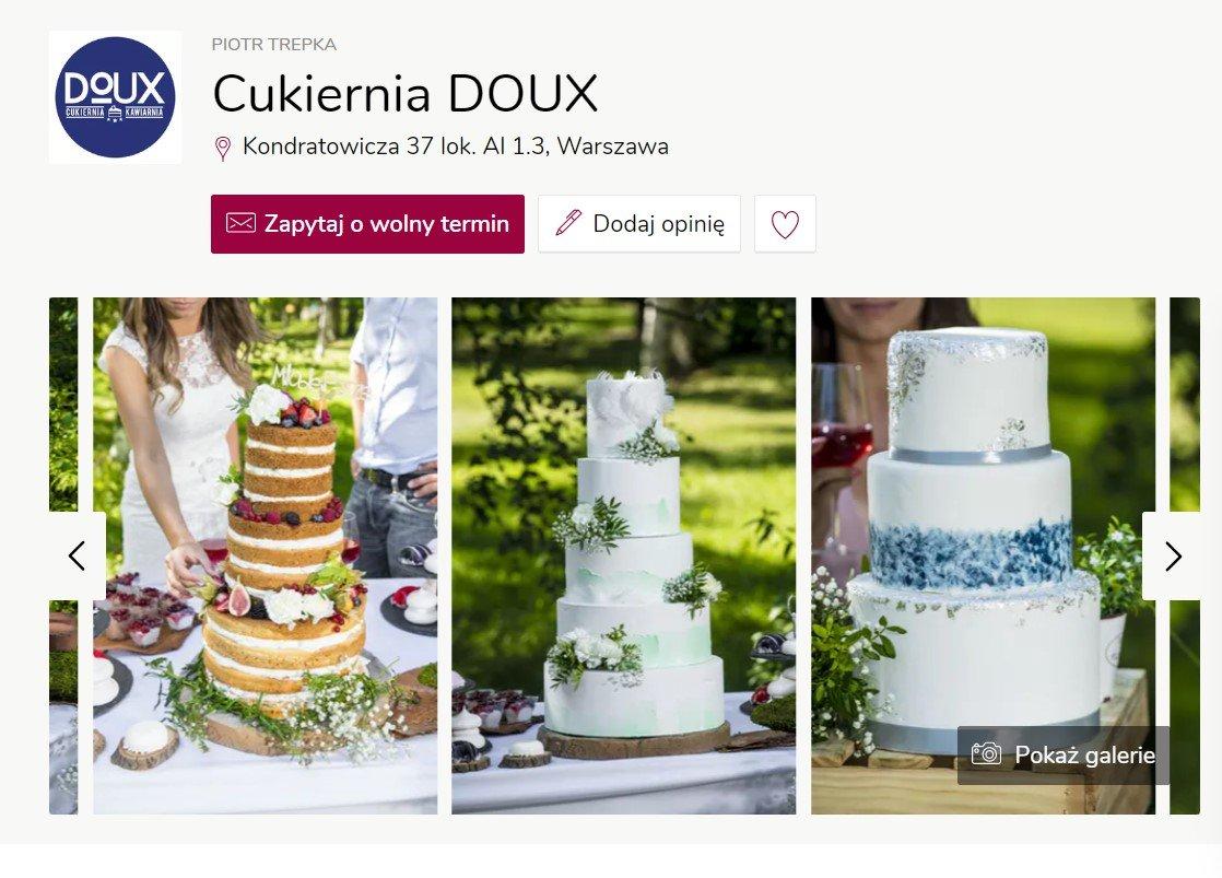 Cukiernia Doux