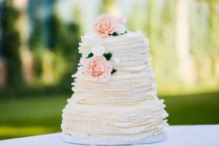 Torty weselne z falbankami - zdjęcie 1