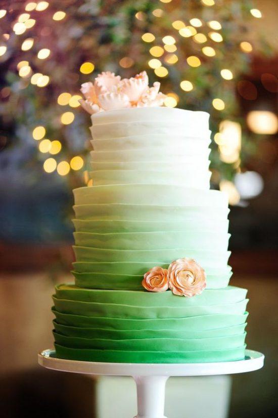 Torty weselne z falbankami - zdjęcie 10