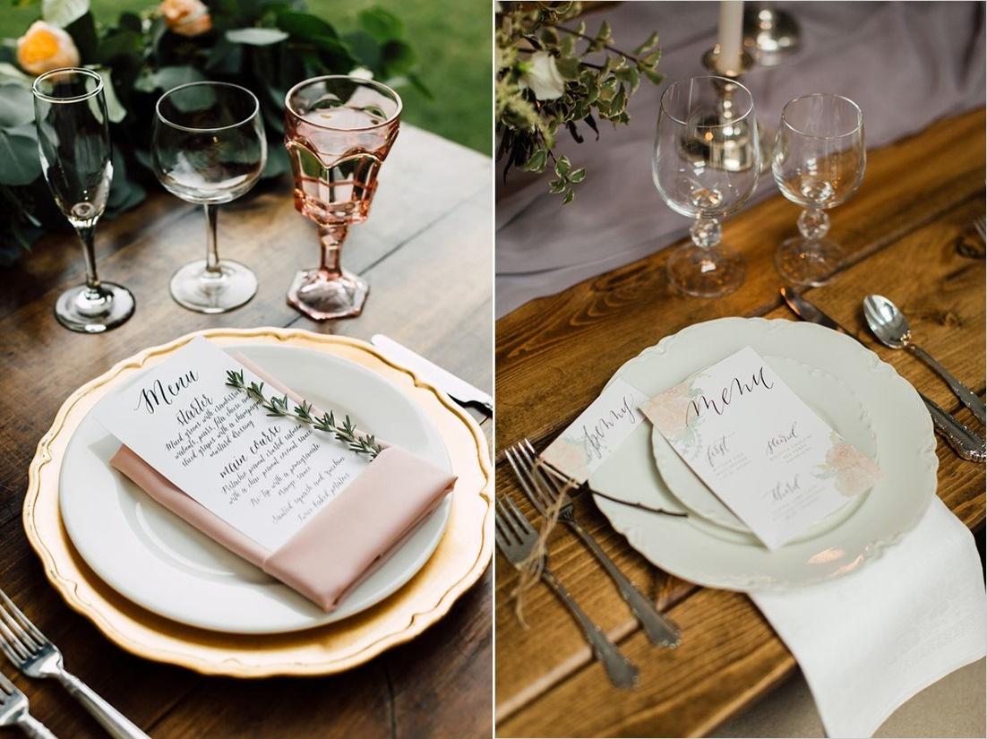 Tradycyjne menu weselne