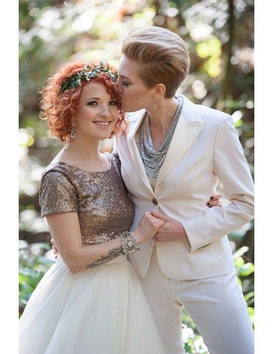 Ślubne garnitury dla lesbijek