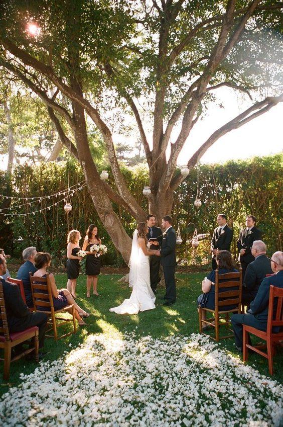 Mały ślub plenerowy
