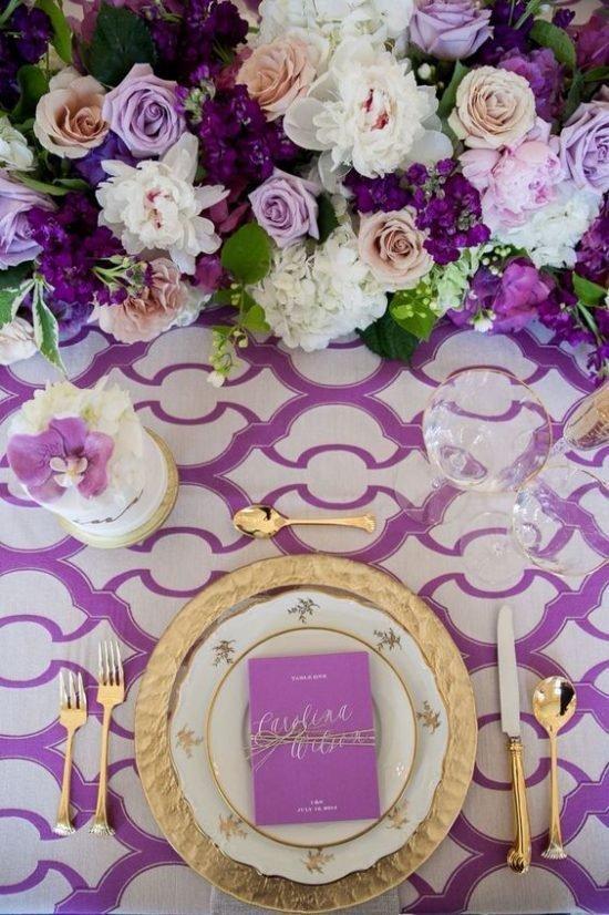 Kolor roku Pantone - ultra violet jako motyw przewodni 35