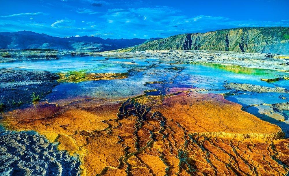 Podróż poślubna - USA, Park Yellowstone