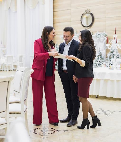 wedding planner para młoda organizacja