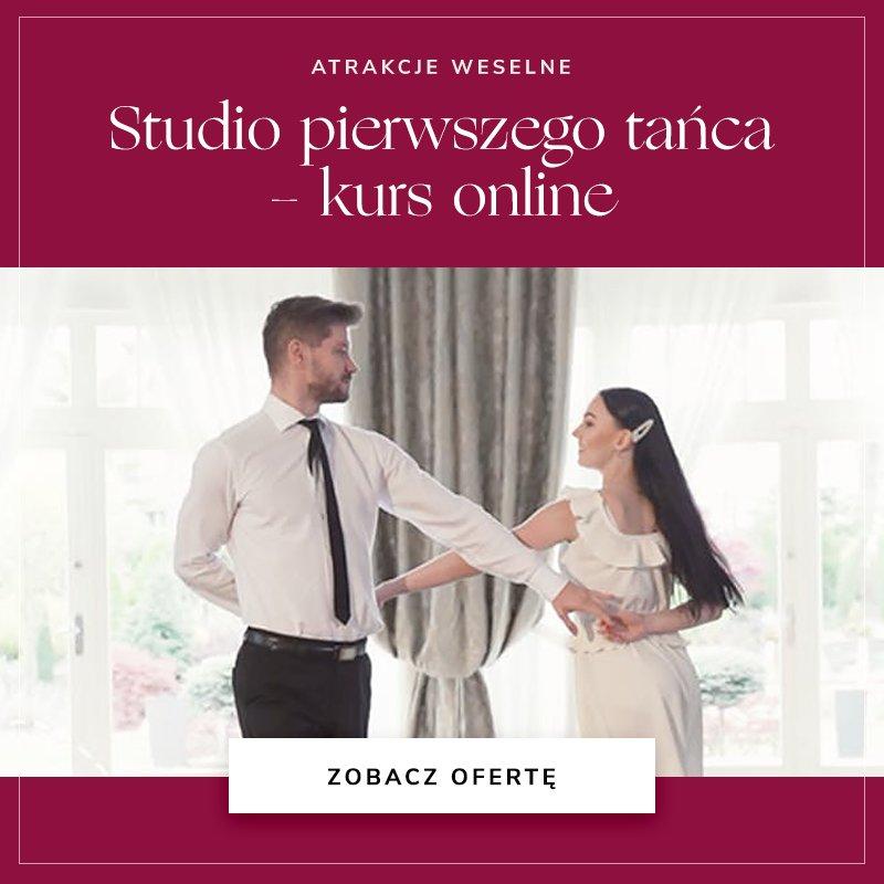Studio pierwszego tańca - kurs online