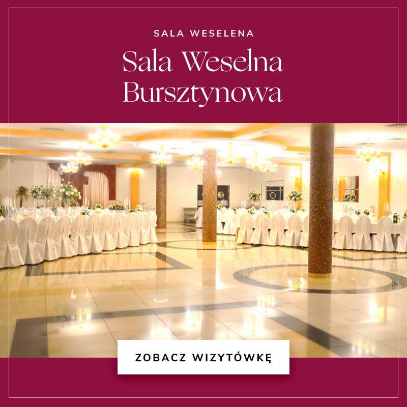 Sala Weselna Bursztynowa