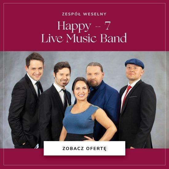 Zespół Happy 7 Live Music Band