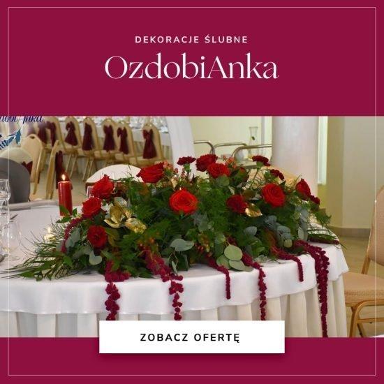 Dekoracje ślubne OzdobiAnka