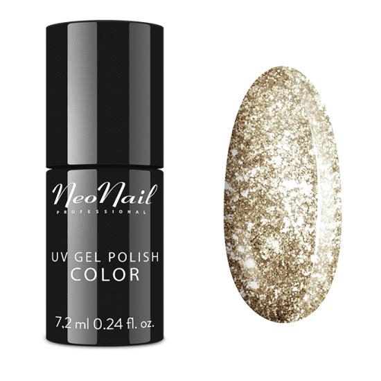 Wedding Shades NeoNail - złoty lakier do paznokci