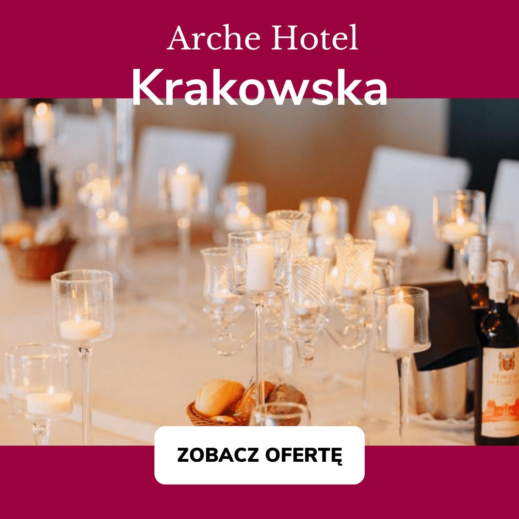 wedding premiery Arche Hotel Krakowska