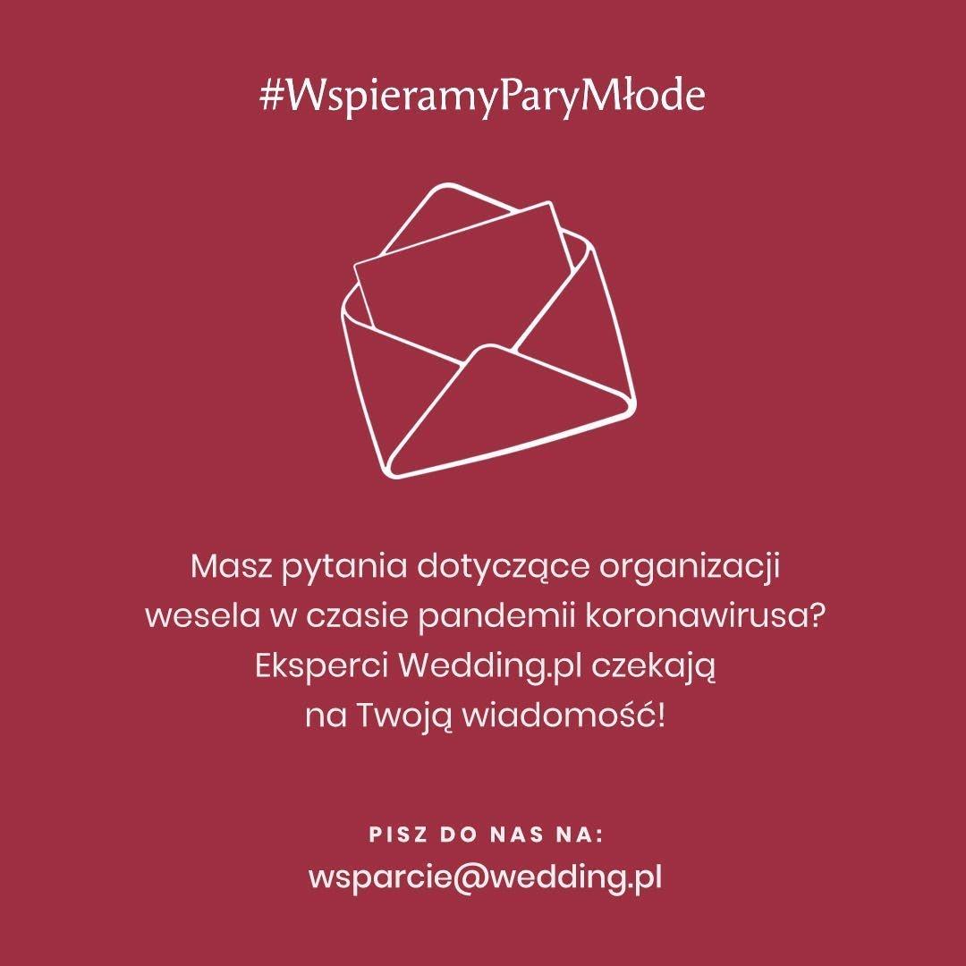 #WspieramyParyMłode Wedding.pl mail