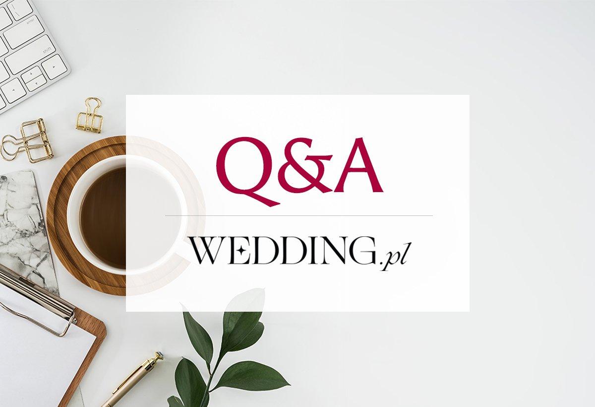 Weddin.pl: Pytania i odpowiedzi Q&A