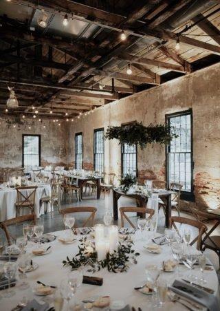 Fabryka na wesele w stylu industrialnym