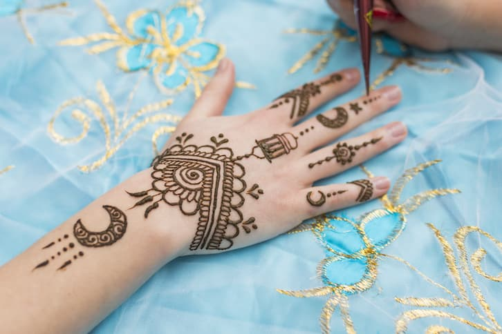 tatuaże henna atrakcje na wesele