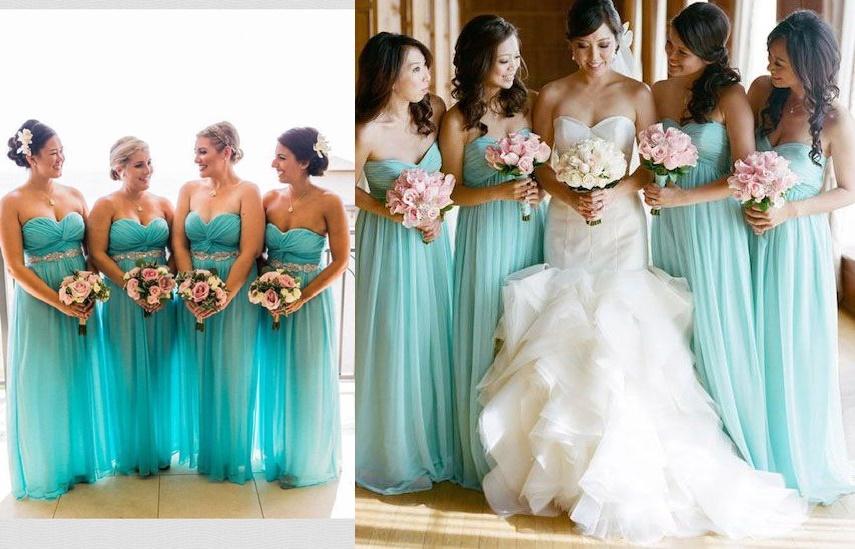 Wesele w kolorze Tiffany Blue - zdjęcie 1