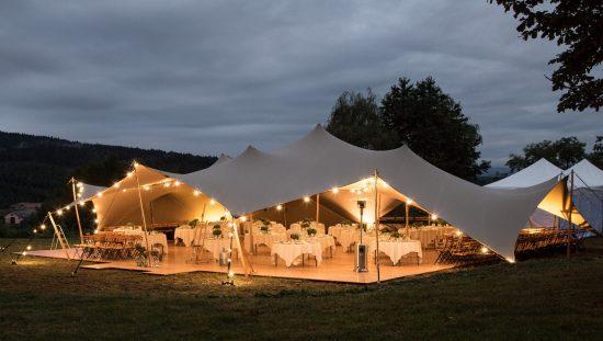 wesele w namiocie - zdjęcie 1
