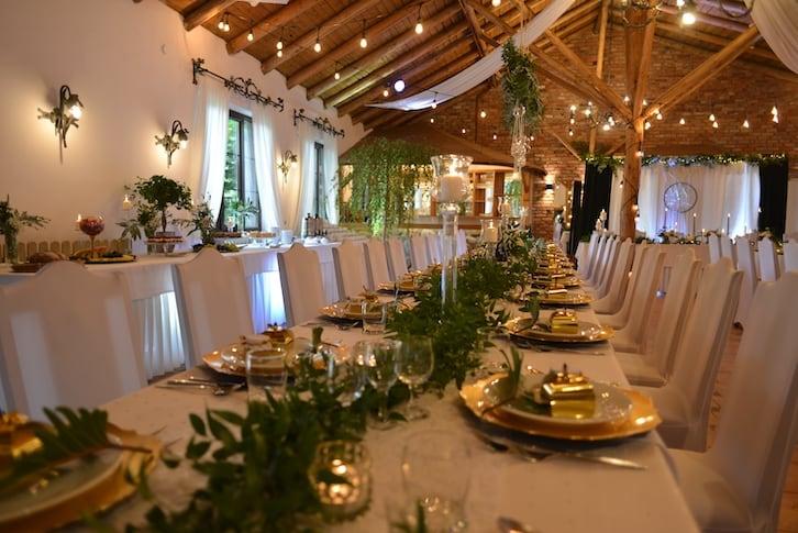 wesele w stodole zajazd zaścianek
