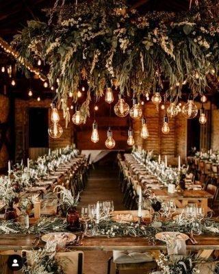 Rustykalne wesele - dekoracje