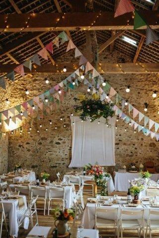 Nowoczesna stodoła wesele