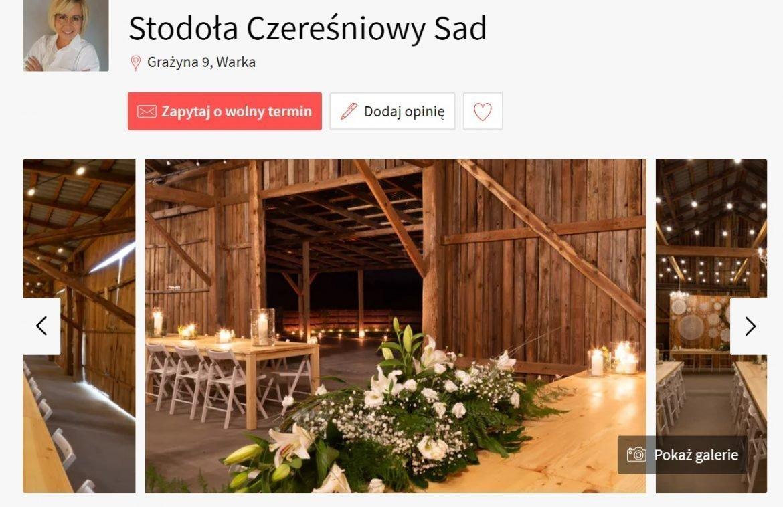Stodoła Czereśniowy Sad