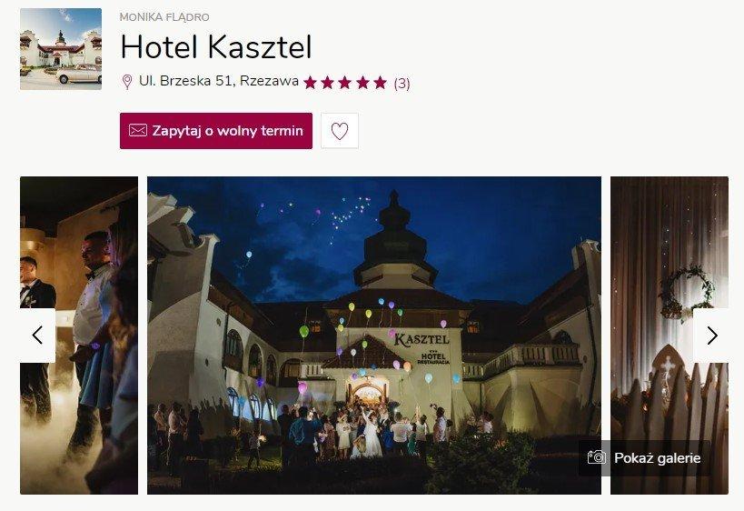 Wesele w zamku - Zamek Hotel Kasztel