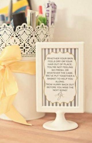 kosmetyki na wesele dla gości