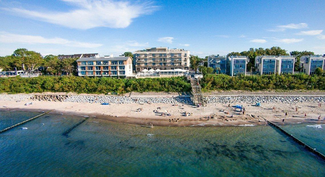 Wieczór panieński nad morzem - hotel w Ustroniu Morskim