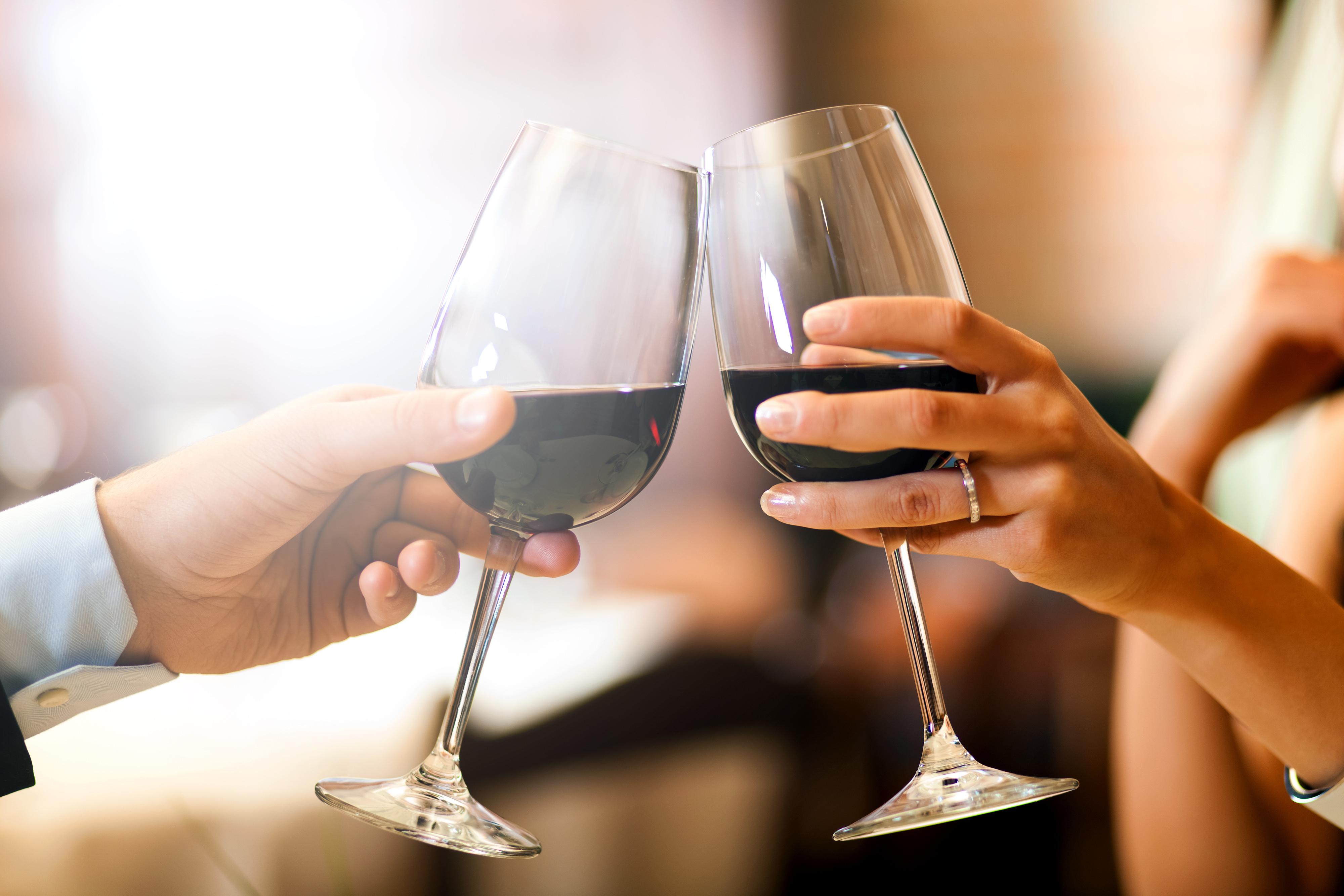 wino na jesienne wesele