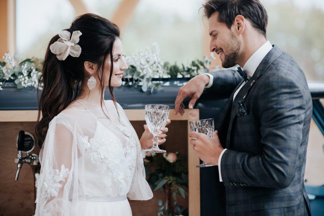 alkohol na wesele wino